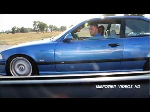 BMW E36 M3 EVO vs Mitsubishi Lancer EVO IX 22 PSi ᴴᴰ