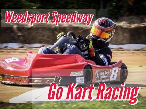 Go - Kart Racing OCTOBERFEST Weedsport Speedway 2018