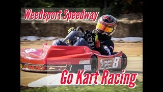 Go - Kart Racing OCTOBERFEST Weedsport Speedway 2018