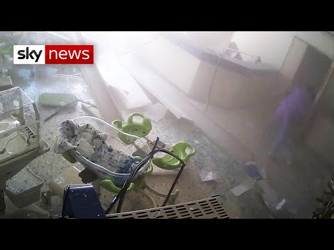Inside a Beirut hospital when the blast hit