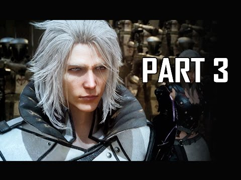 Final Fantasy 15 Walkthrough Part 3 - Declaration of War (FFXV PS4 Pro Let's Play Commentary)