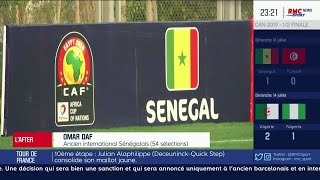 """Omar Daf sur la finale de la CAN : """"Algérie-Sénégal, pour moi c'est du 50-50"""""""