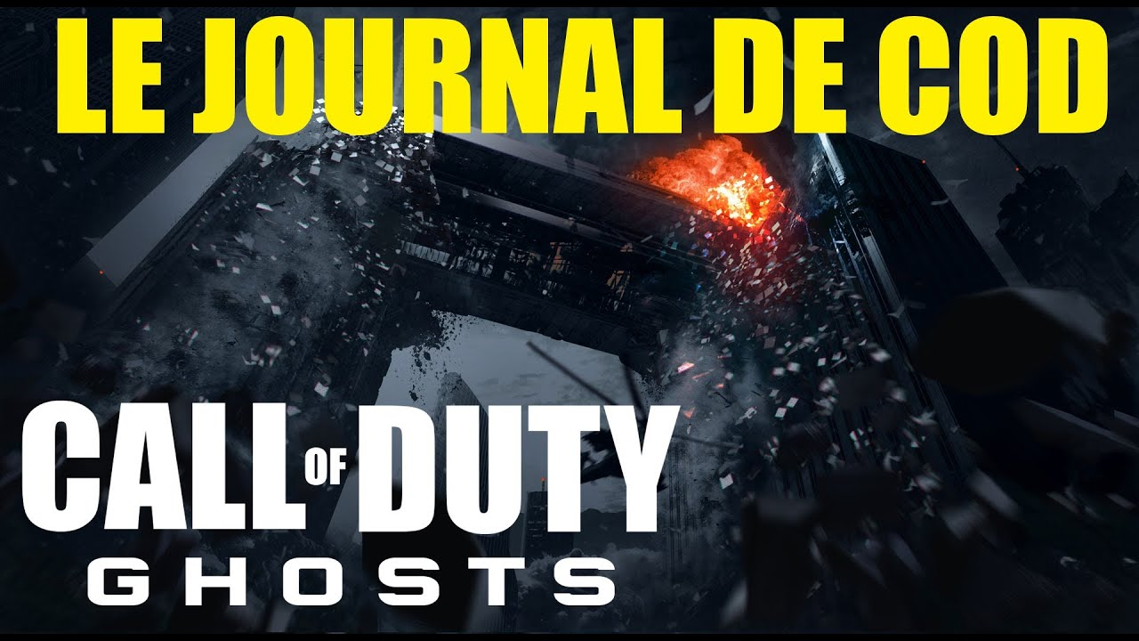 Le Journal De COD 51 COD GHOSTS Map Free Fall Et BO2 DLC Ps3PC SkyRRoZ YouTube