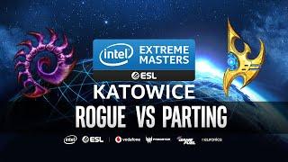 Rogue vs Parting Bo5 QUALIFIER SERIES [ZvP] IEM Katowice 2020 Qualifiers - Starcraft 2