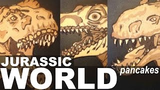Jurassic World Pancake Art