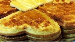🔴Вкусные Домашние Вафли Рецепт.Самый лёгкий базовый рецепт - как быстро приготовить вкусный завтрак