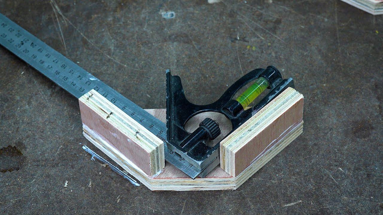 DIY Wooden 90 Degree Corner Clamp