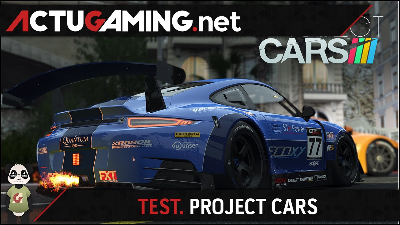 test project cars meilleur jeu de course de 2015 doovi. Black Bedroom Furniture Sets. Home Design Ideas