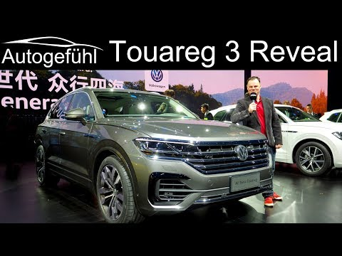Volkswagen Touareg III REVEAL REVIEW & SUV Special - 2019 VW Touareg 3 - Autogefühl