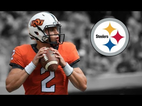 Mason Rudolph Highlights || Welcome to Pittsburgh ᴴᴰ
