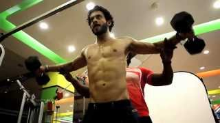 Actor Bharath's workout For 555
