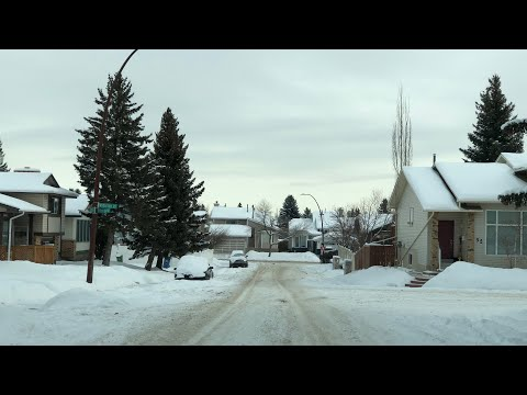 Warning!! Calgary School Streets Are Dangerous! Message To Mayor Nenshi And The City