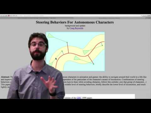 6.1: Autonomous Agents and Steering - The Nature of Code