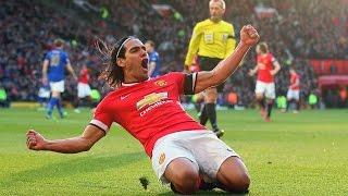 manchester united 3 1 leicester city goals van persie falcao morgan o g wasilewski