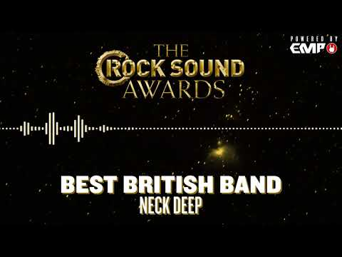 Rock Sound Awards Powered By EMP: Best British Band - Neck Deep