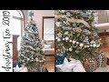 Decorate With Me: Our Christmas Tree 2019 Farmhouse Buffalo Plaid | VLOG