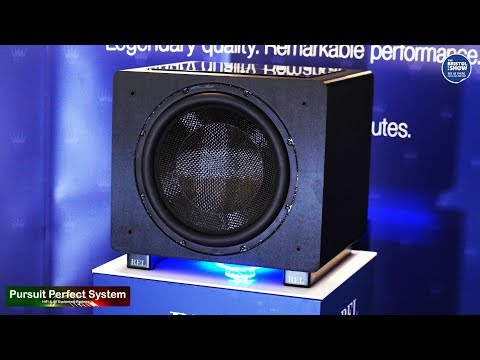 REL Acoustics NEW Predator 1508 Home Theatre Subwoofer and more @ Bristol HiFi Show 2019