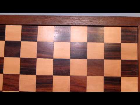 Informal Video Showing Courier Chess Pieces and Boards - Anc