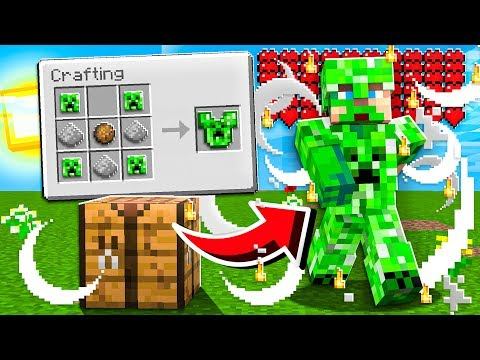 CRAFTING Mob ARMOR And WEAPONS!