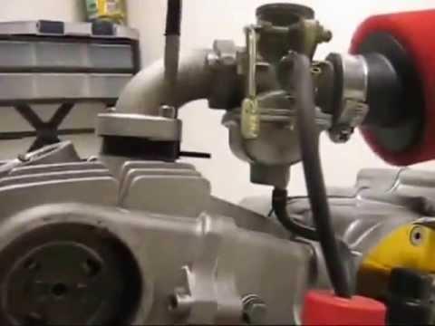 Сборка двигателя FMB,FMH,FMI