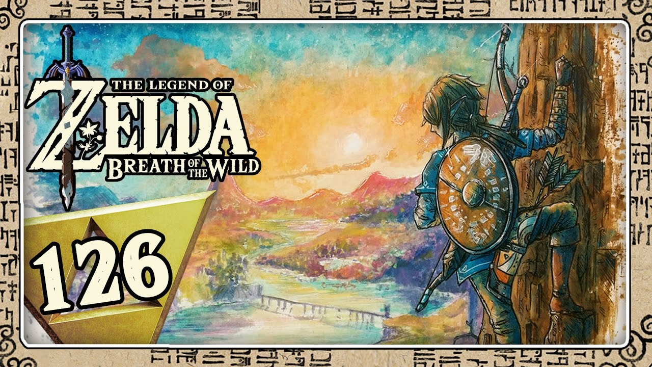 Kletterausrüstung Zelda Breath Of The Wild : The legend of zelda breath wild part 126: hin & her hoch