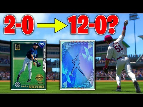 CAN I WIN 10 GAMES IN A ROW AND GO 12-0!? MLB The Show 19 Battle Royale