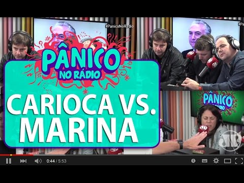 Carioca e Marina brigam por causa de Guido Mantega | Pânico