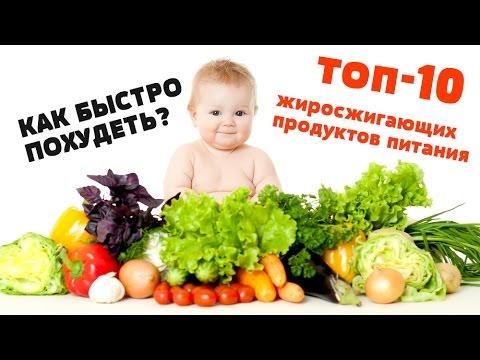 Жиросжигающие продукты для похудения: виды и полный список