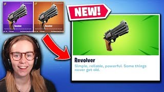 *NEW* Fortnite Update | Revolver, $920k Dr Lupo Charity Stream + Demogorgon Skin!!