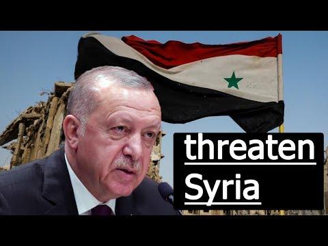 Erdogan threatens imminent Turkish operation in Syria