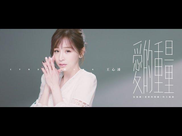 王心凌 Cyndi Wang《愛的重量》Official Music Video (電視劇【愛情的開關】主題曲)