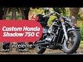 Custom Honda Shadow 750 Classic - Tan?t?m ve ?nceleme | Ertekin BA?SOY