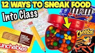 12 Creative Ways To Sneak Food And Candy Into Class Using School Supplies   Nextraker
