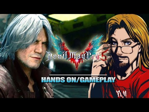 MAX PLAYED DMC5: Full Preview - Nero, V & Dante (4k Devil May Cry 5)