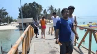 Naff tetap berjalan @tidung island