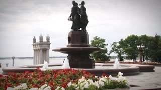 """Главный фонтан Волгограда """"отремонтировали"""" скотчем"""