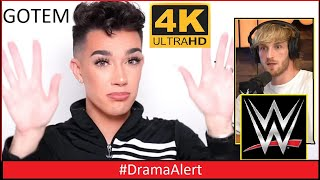 James Charles Caught in 4k HDR AGAIN! #DramaAlert Logan Paul to WWE!  - Tayler Holder vs GIB!