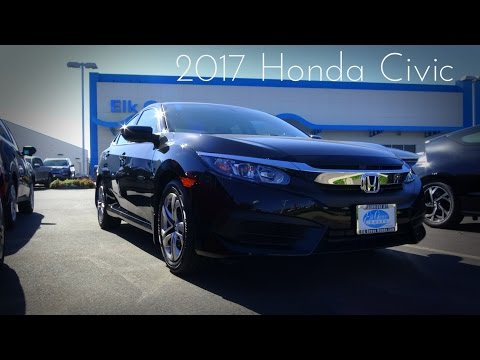 2017 Honda Civic LX 2.0 L 4-Cylinder Review