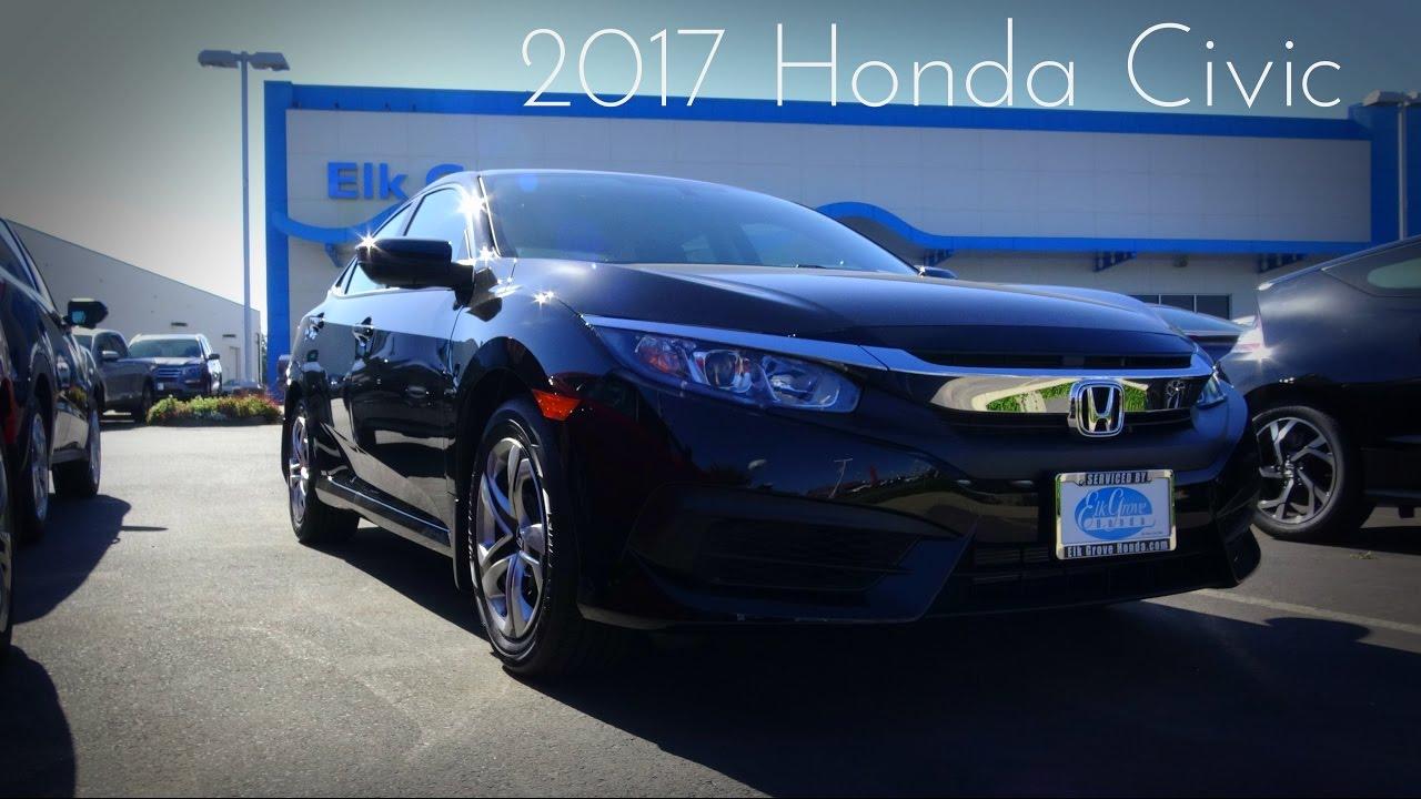 2017 Honda Civic Lx 2 0 L 4 Cylinder Review
