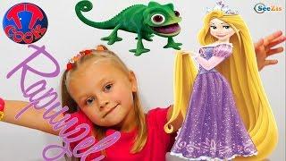 ✔ Doll Rapunzel. Новая Кукла от Ярославы. Видео для девочек / Disney Princess Rapunzel ✔