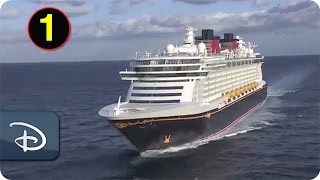 The Disney Dream Ship Horn With Familiar Disney Melodies