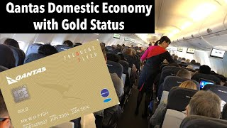 What are domestic flights in Australia like? (with QANTAS Gold card)
