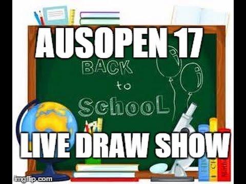 Podcast #76: Aussie Open 2017 Draw Show: Ole School Dayz