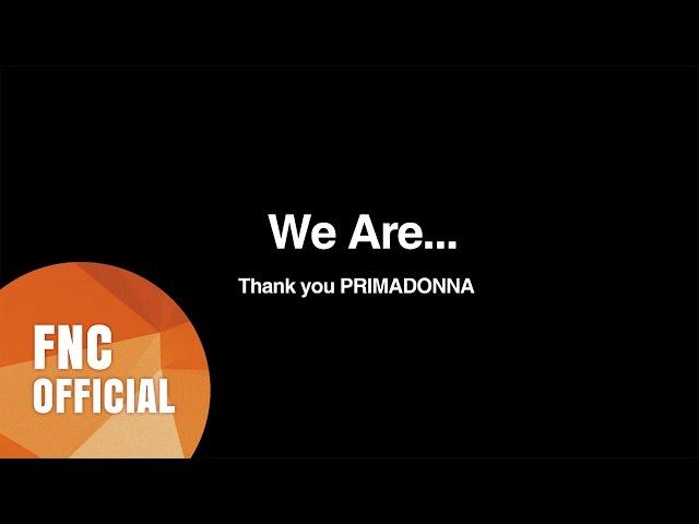 FTISLAND - We Are.. (for PRIMADONNA)