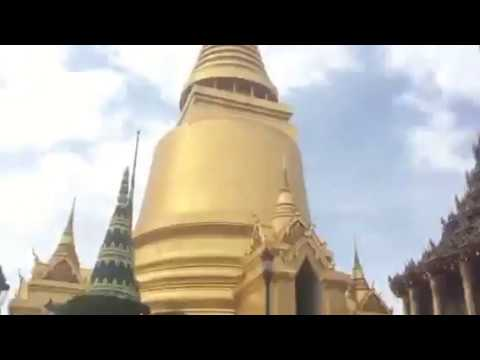 Grand temple in Bangkok Thailand