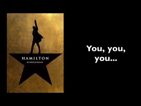 Hamilton | Burn [Instrumental/Karaoke With Lyrics]