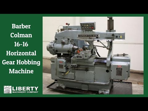used barber colman model 16 16 horizontal gear hobbing machine rh youtube com Barber Colman MP 424 Actuator Barber Colman Actuator MA 405