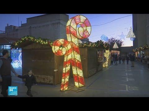 تحضيرات أعياد الميلاد في المدينة القديمة بالقدس  - نشر قبل 37 دقيقة