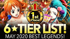 GLOBAL TIER LIST! Best Legends May 2020! (ONE PIECE TREASURE CRUISE)