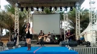 SEVENBAND - CINTA TERBAIK (Cassandra cover) @Ancol Beach City